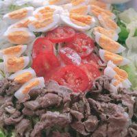 Salad bò trứng